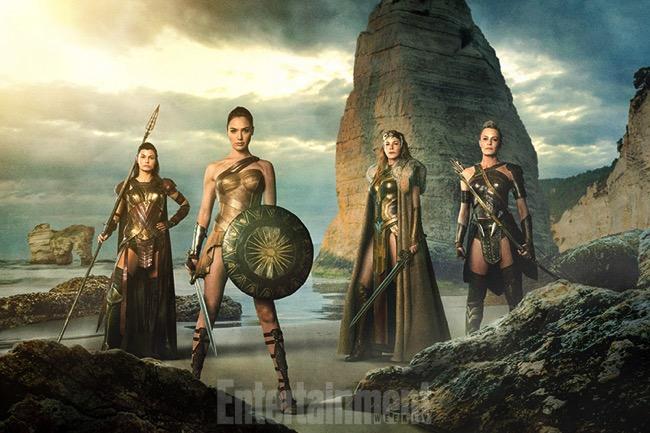 Wonder woman movie cast gal gadot