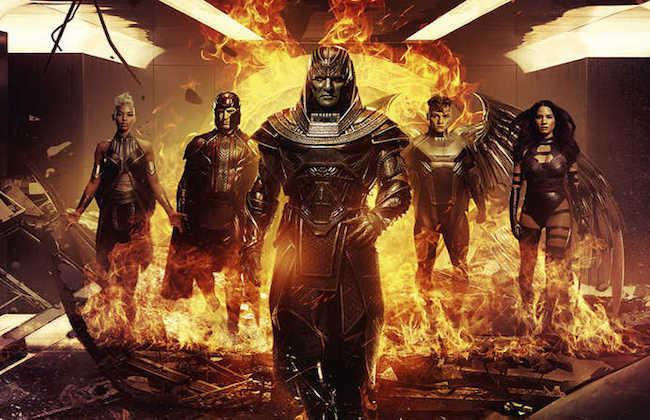 『X-MEN:アポカリプス』の最新イメージが公開「神と失意の天使」