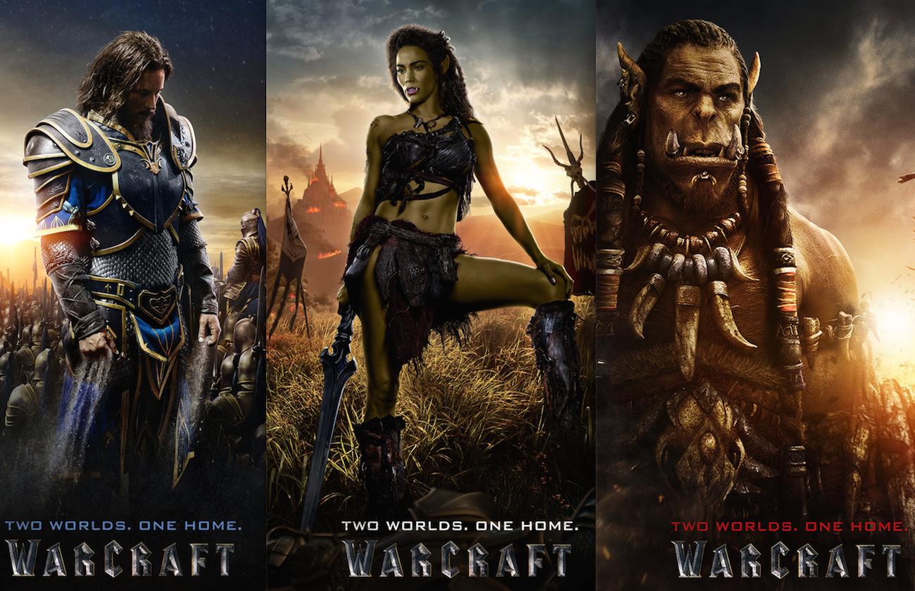 ファンタジー大作『ウォークラフト』のキャラクターポスターが公開!