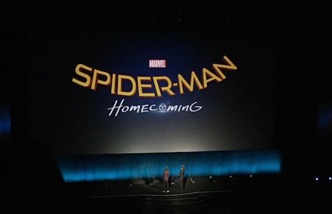 2017年公開の新『スパイダーマン』のタイトルは『Spider-Man Homecoming』と判明!