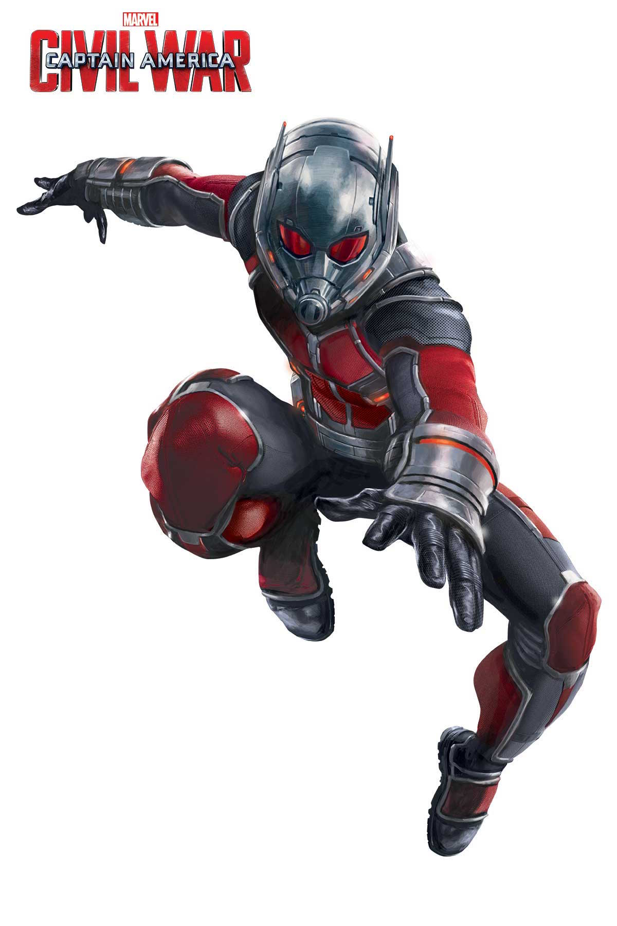 Captain america civil war ant man promo art