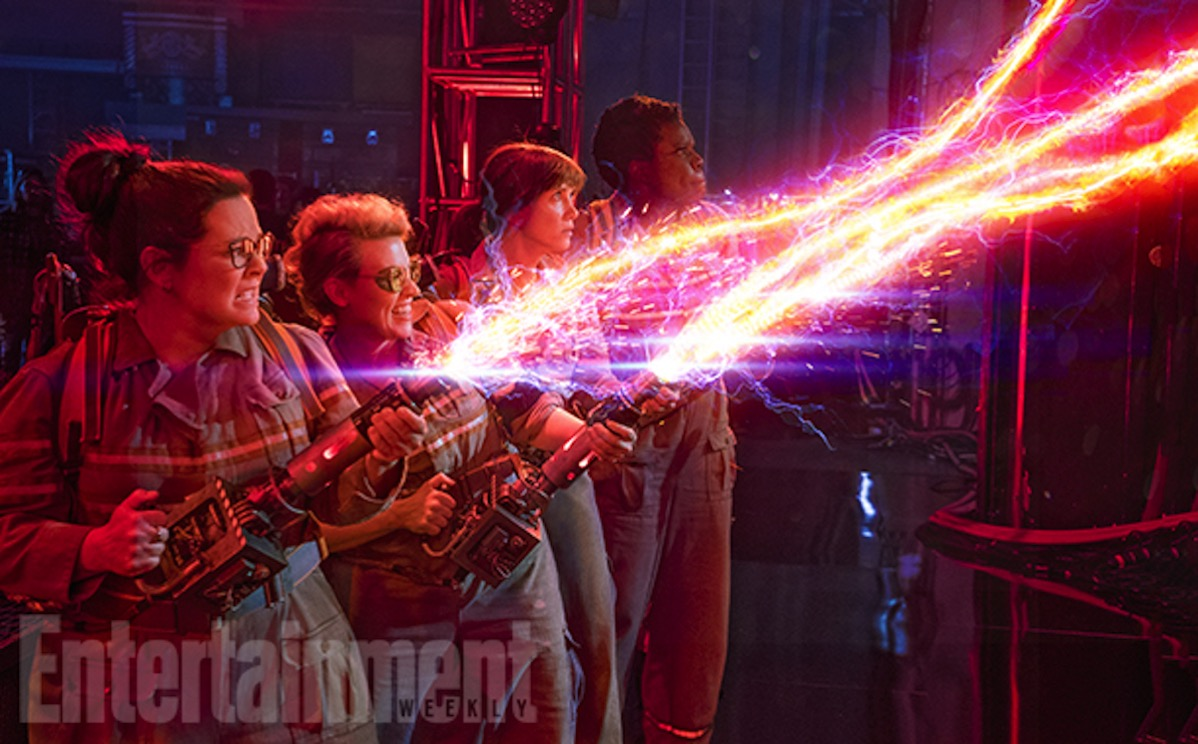 Ghostbusters 2016 cast 2