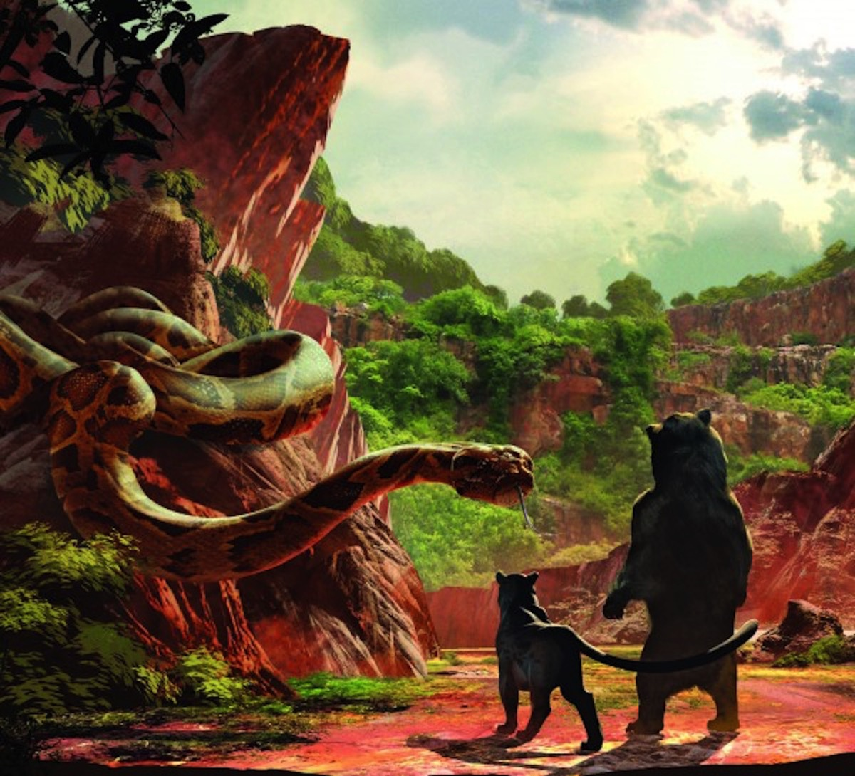 The art of the jungle book concept art 1 600x545