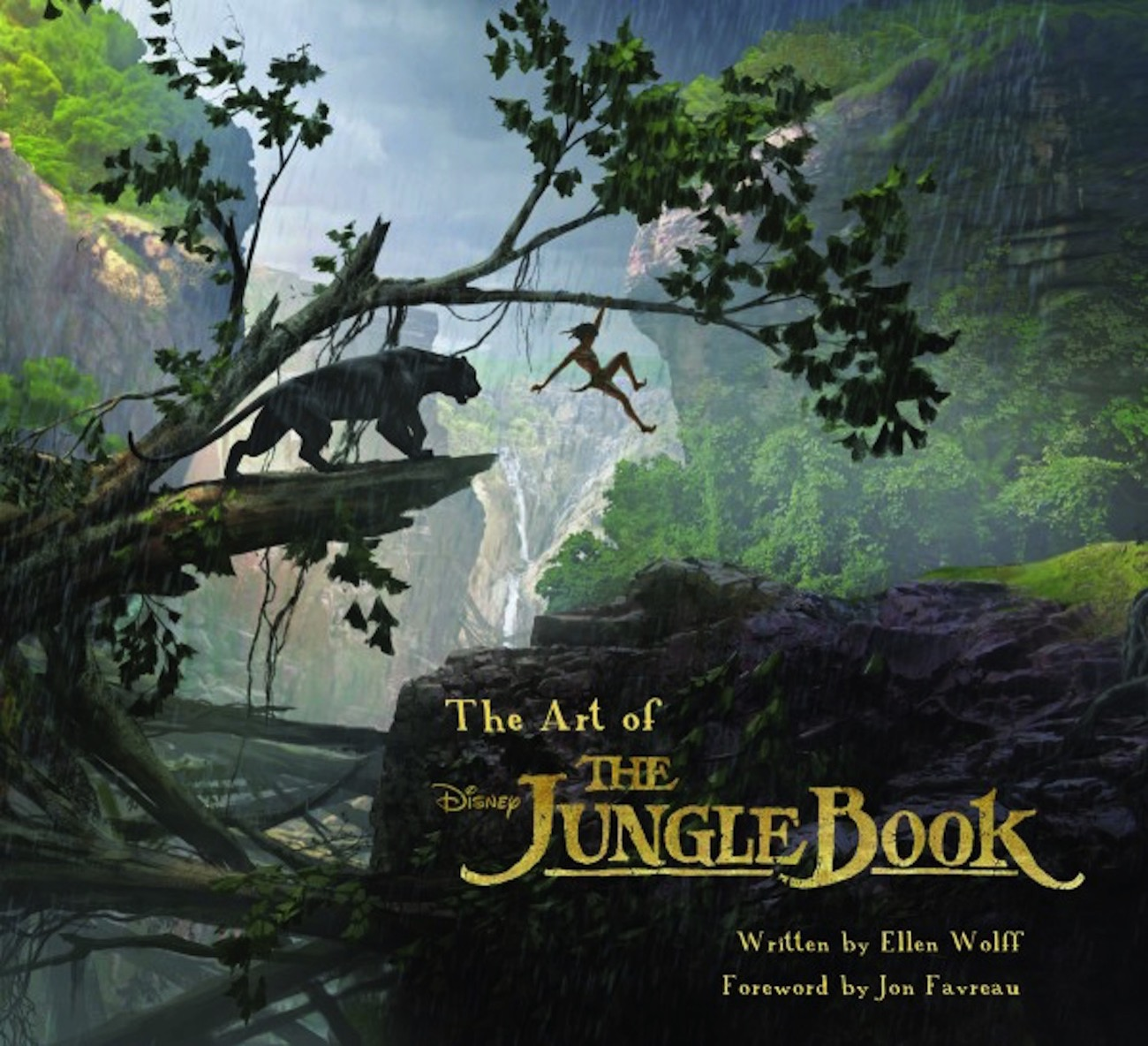 The art of the jungle book cover 600x547