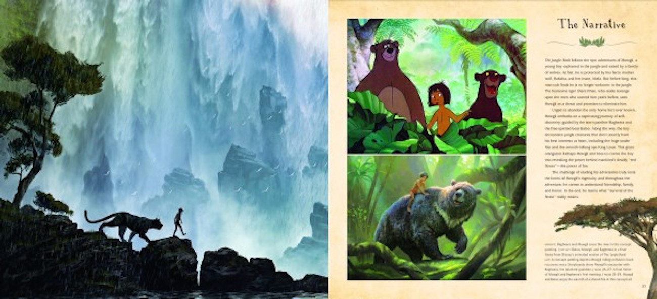The art of the jungle book spread 1 600x273