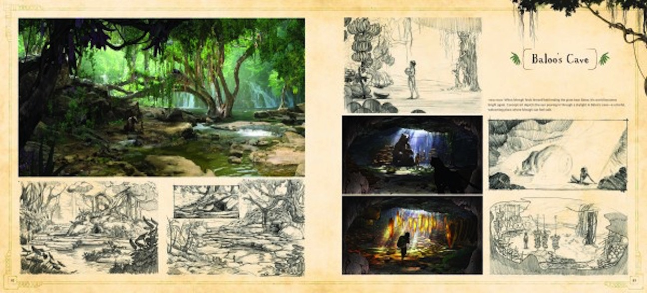 The art of the jungle book spread 2 600x272