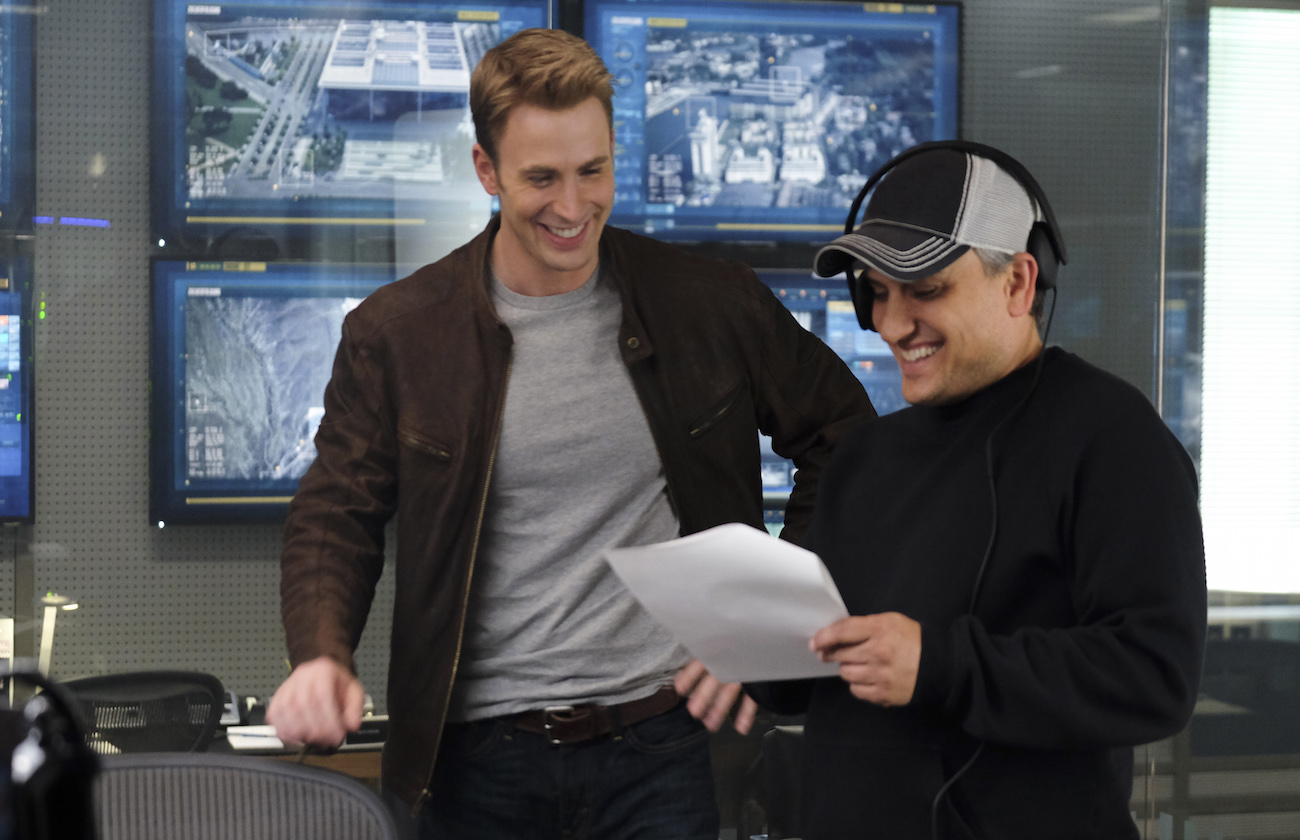 Captain america civil war chris evans joe russo