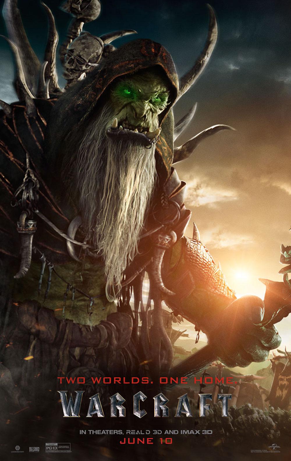 Warcraft poster gul dan