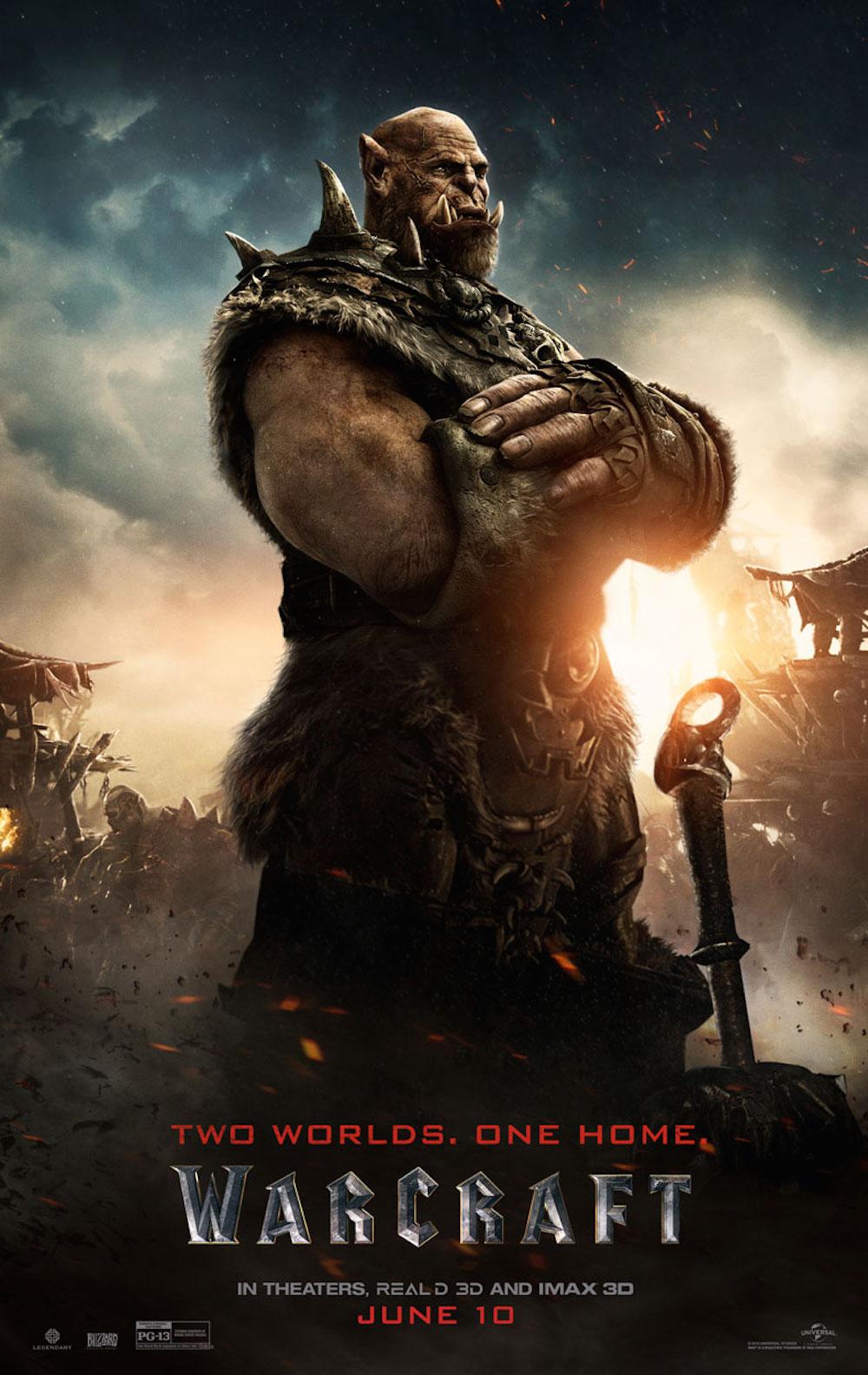Warcraft poster orgrim