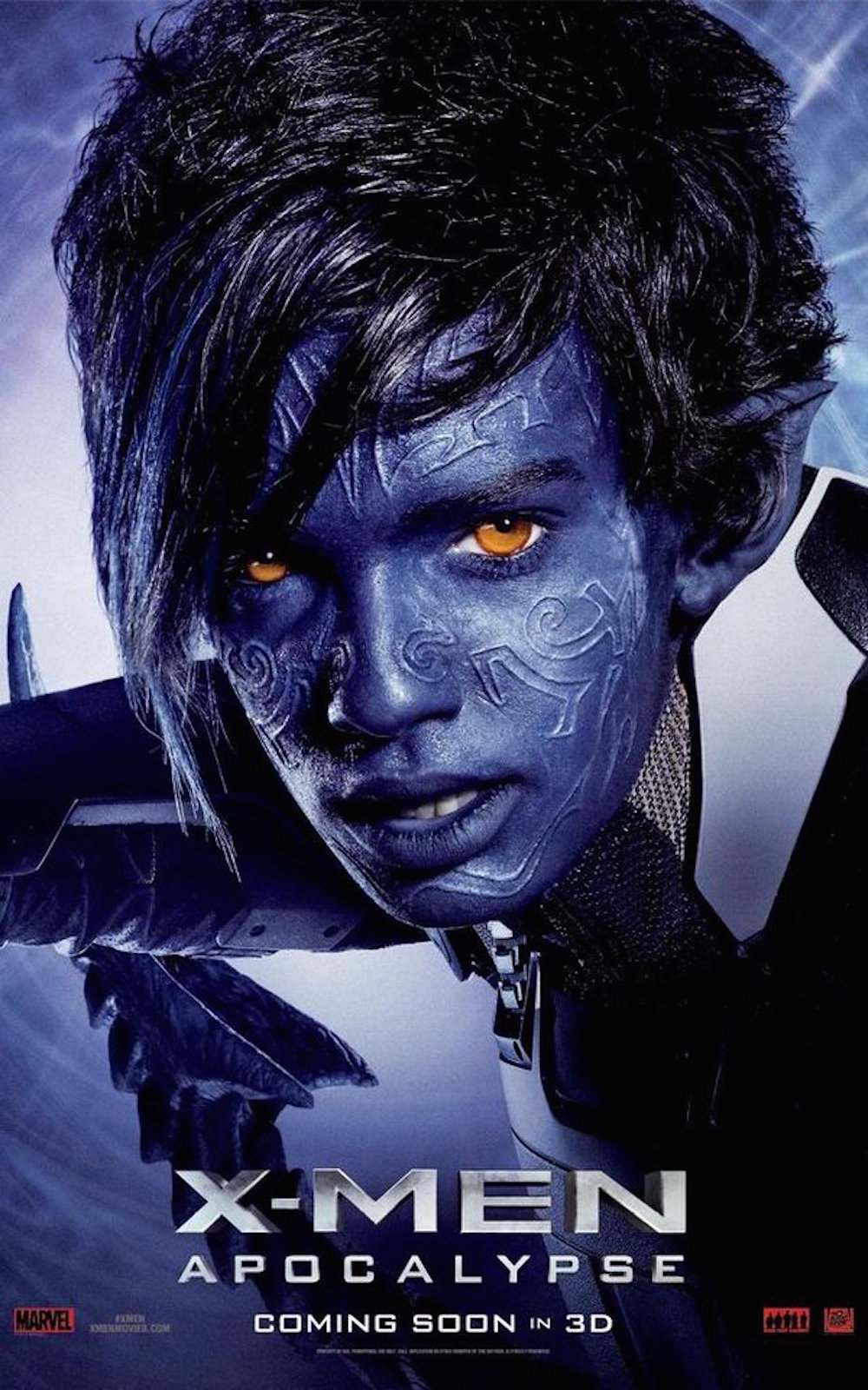 X men apocalypse poster nightcrawler
