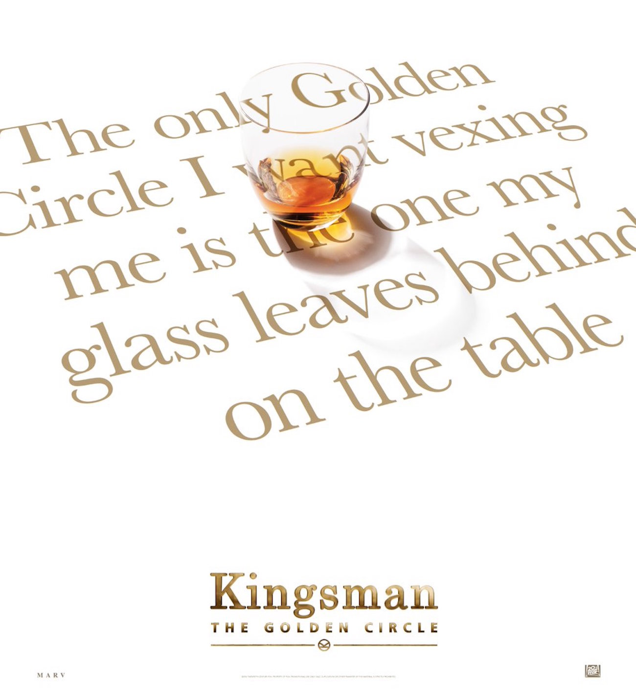 Kingsman the golden circle jeff bridges poster