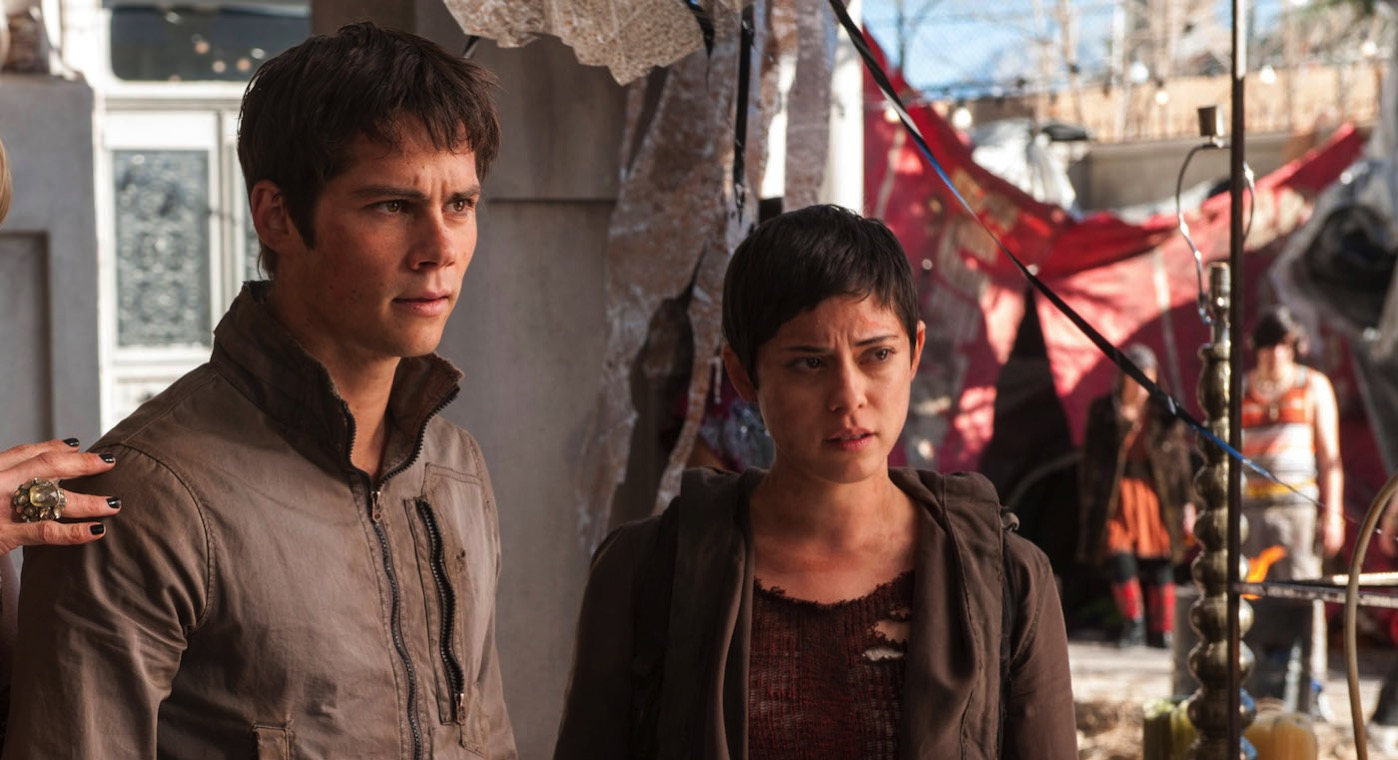 Maze runner the scorch trials dylan obrien rosa salazar