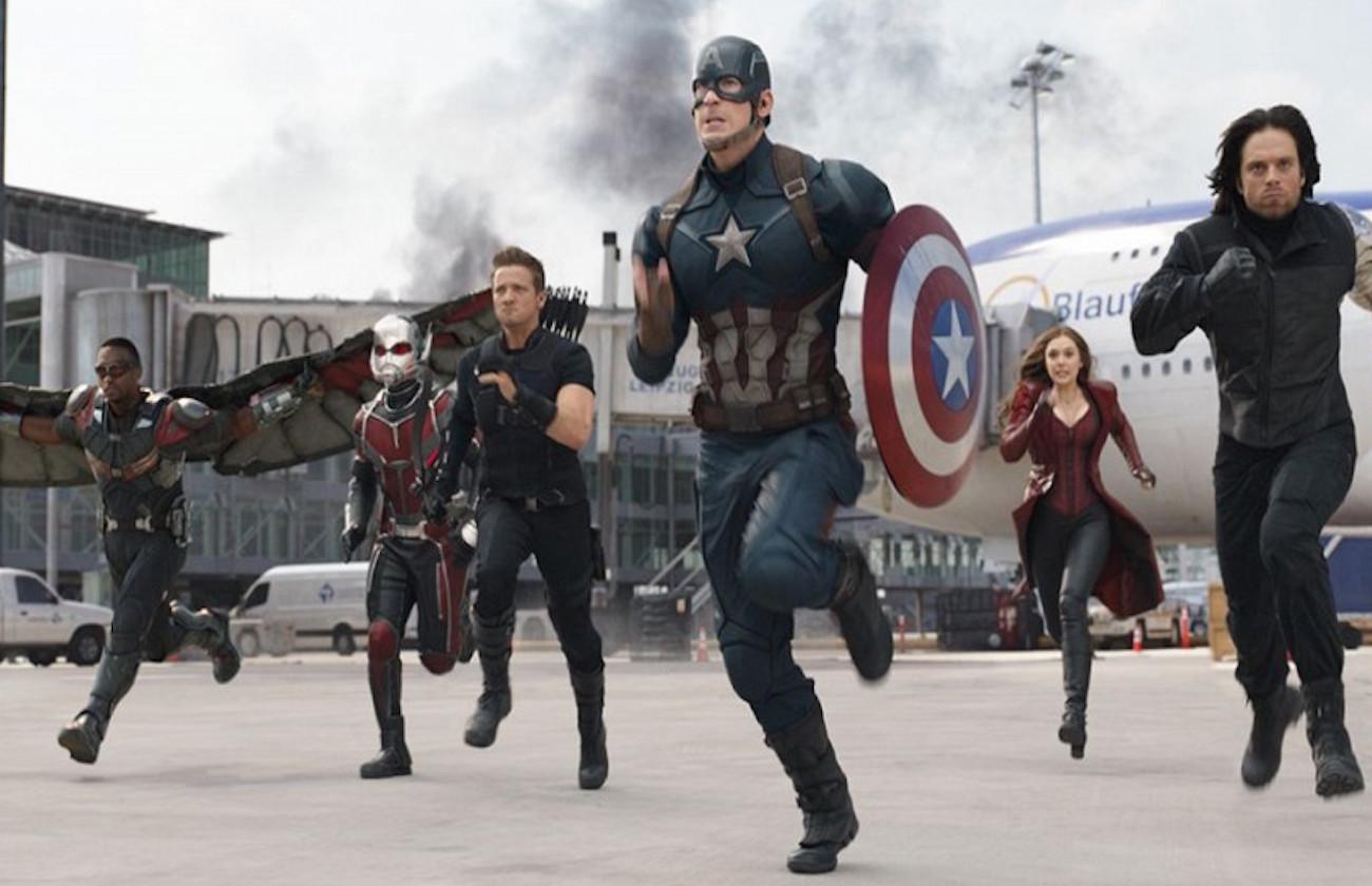 Spider Man Civil War Team Cap