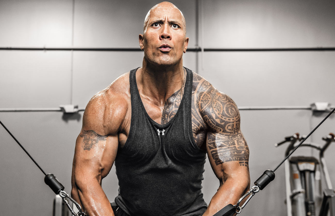 The Rock Dwayne Johnson Cable Crossover Promo