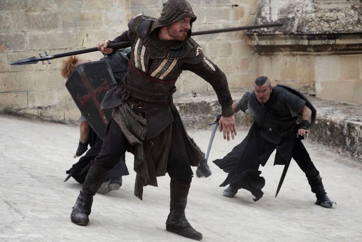 Assassin creed movie fassbender