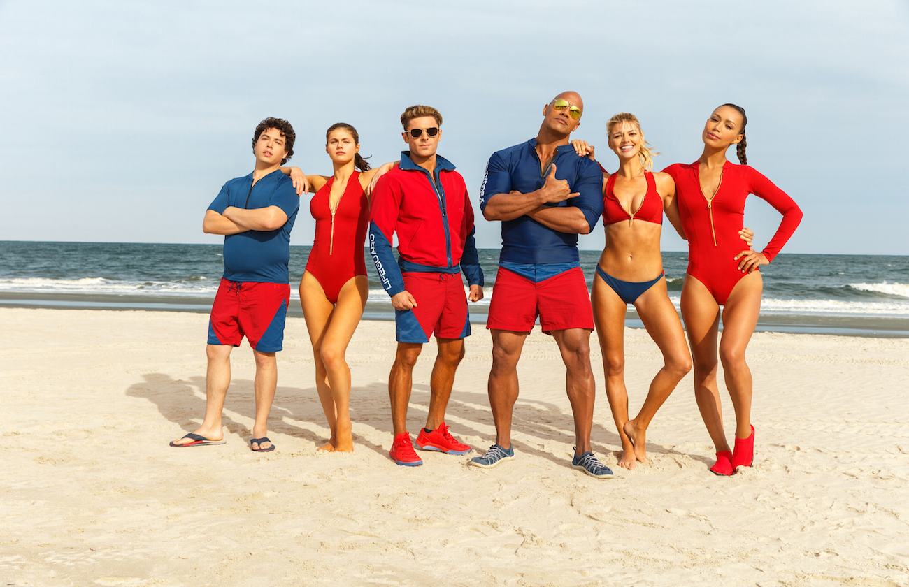 Baywatch cast official