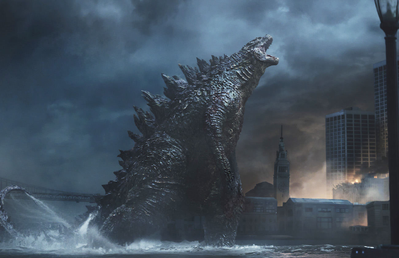 Godzilla remake monster image