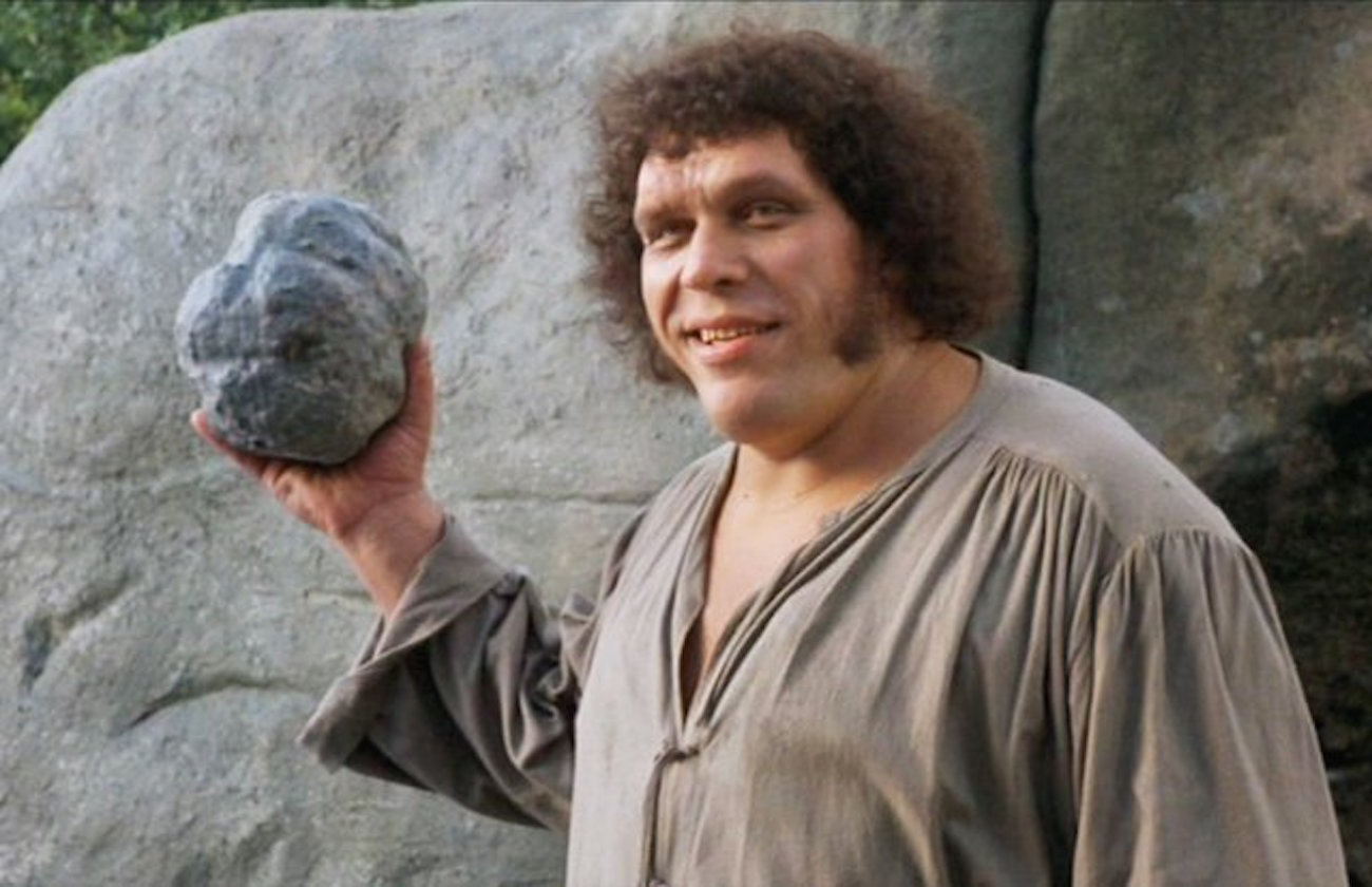 How much could andre the giant really drink