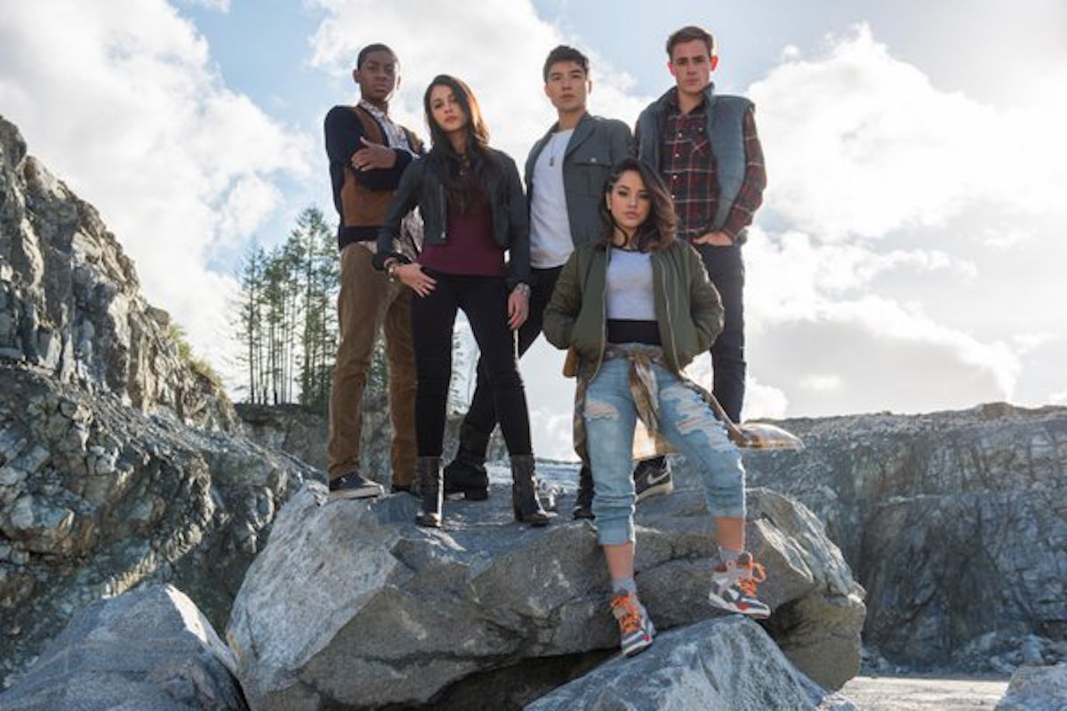 Power rangers cast image