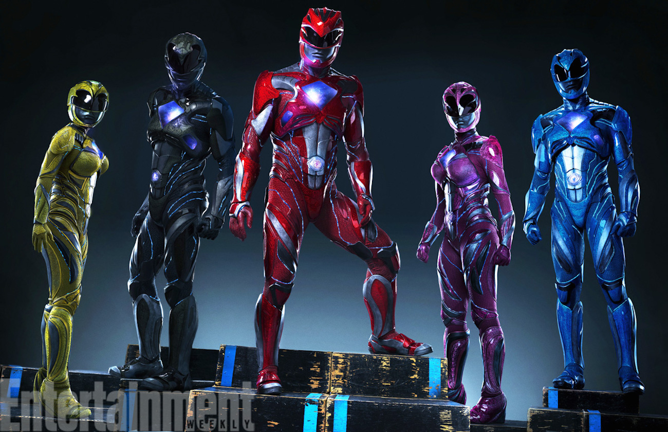 Power rangers reboot costumes