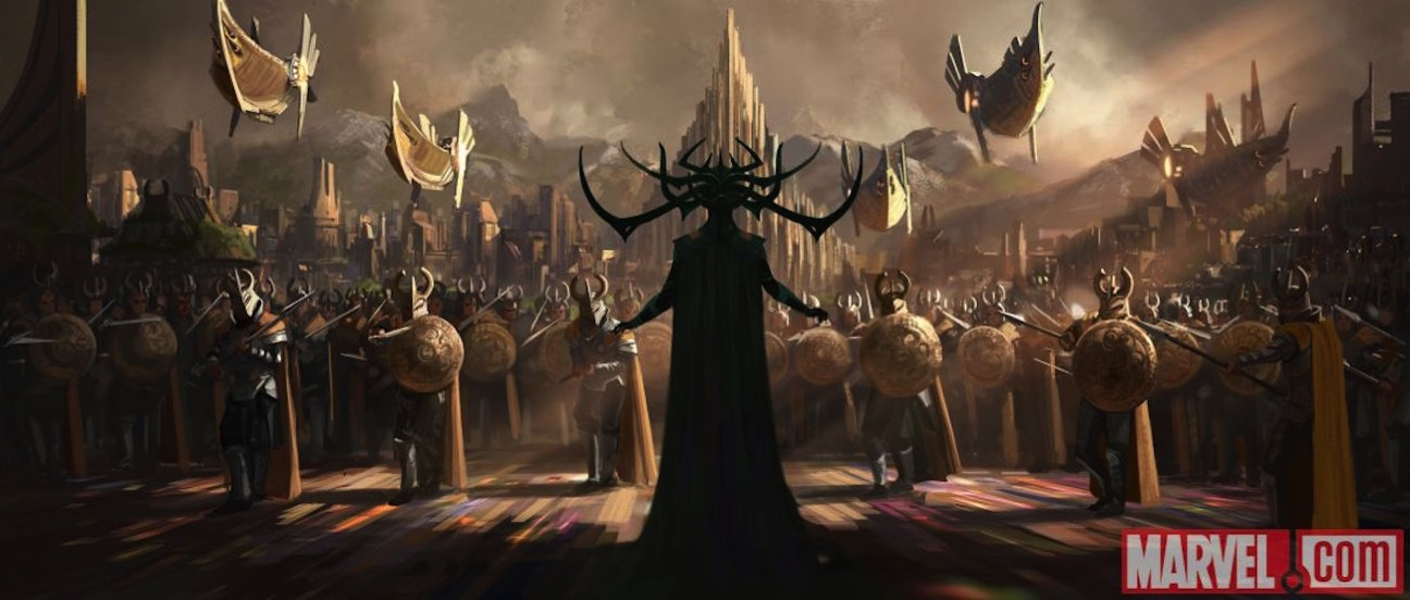 Thor ragnarok concept art 1