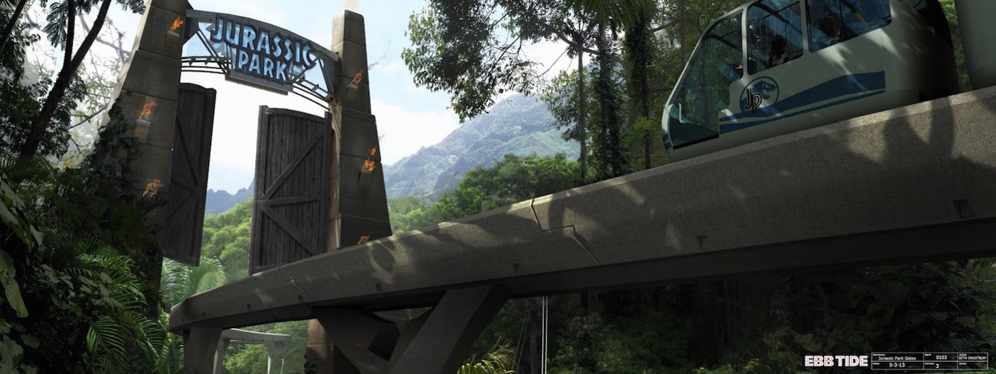 JurassicWorld Gates