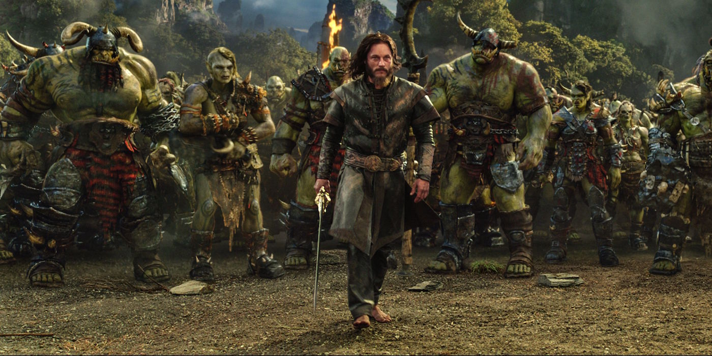 Warcraft Movie Anduin and Orcs