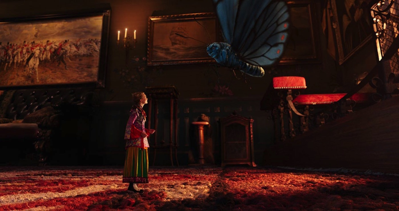 Alice through looking glass theatrical trailer