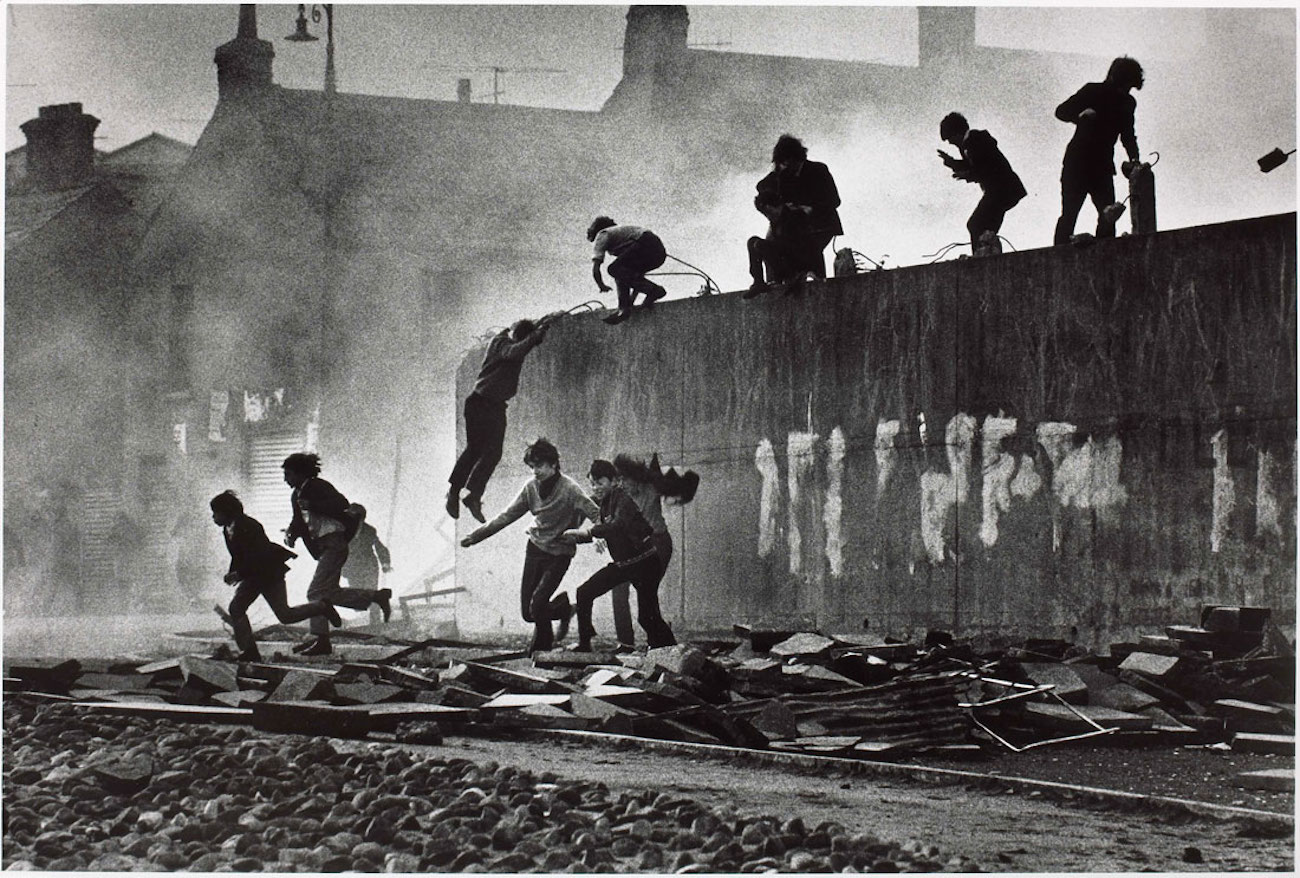 Don mccullin catholic youth escaping a cs gas assault web