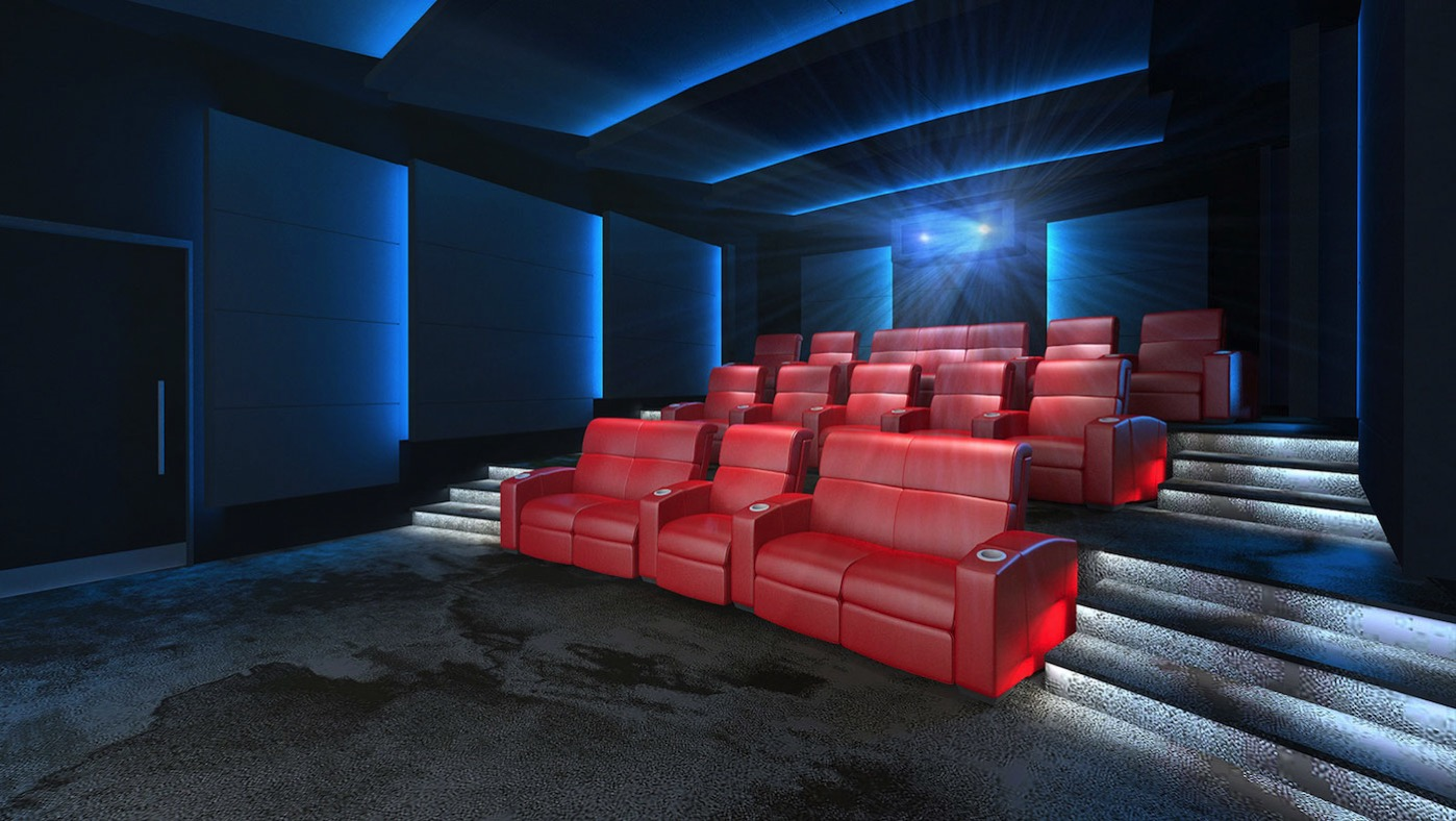 Imax private theatre palais