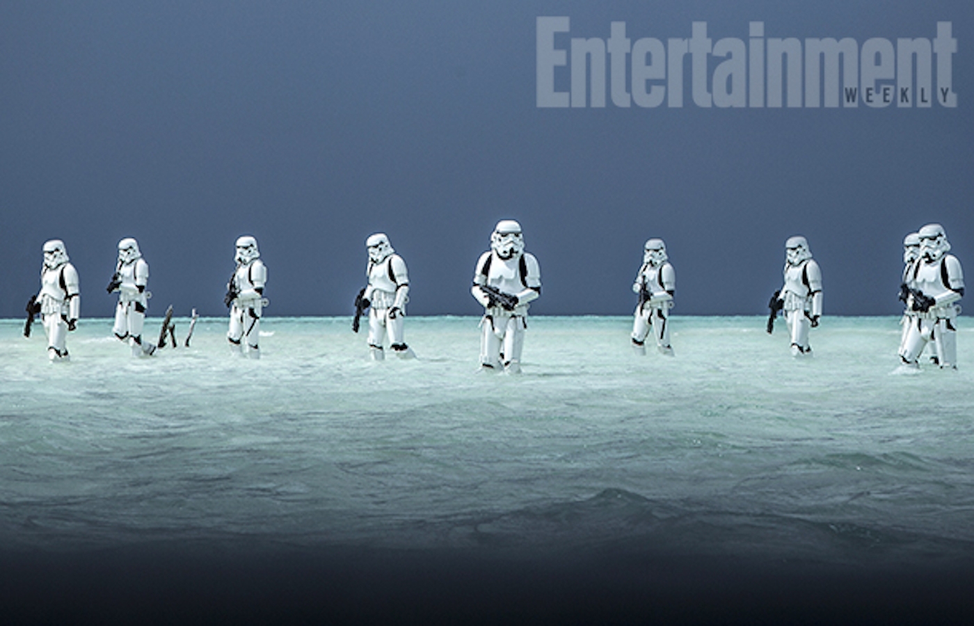 Rogue one a star wars story stormtroopers beach