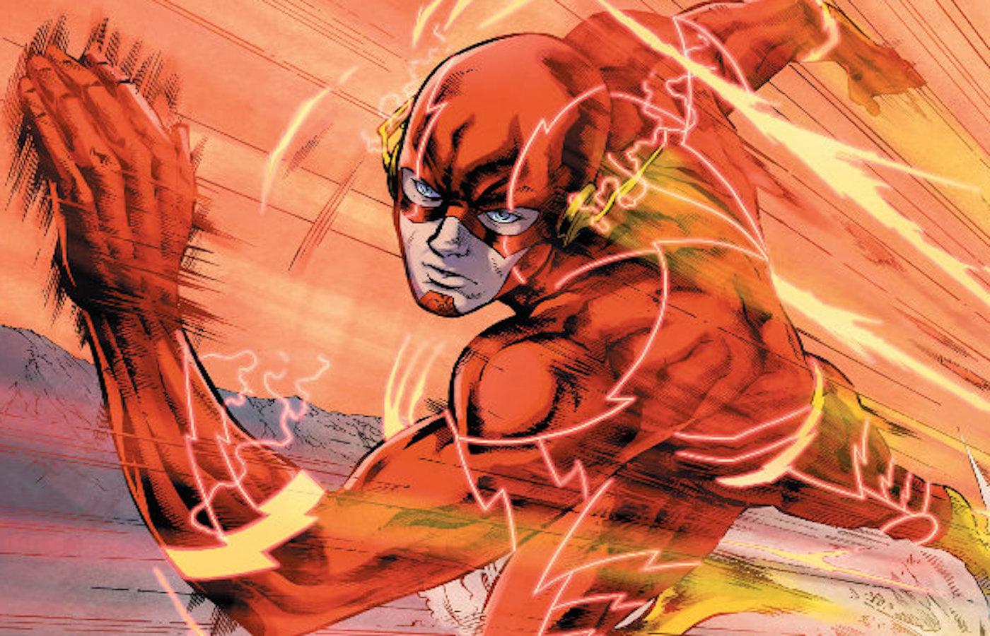The flash comic new 52