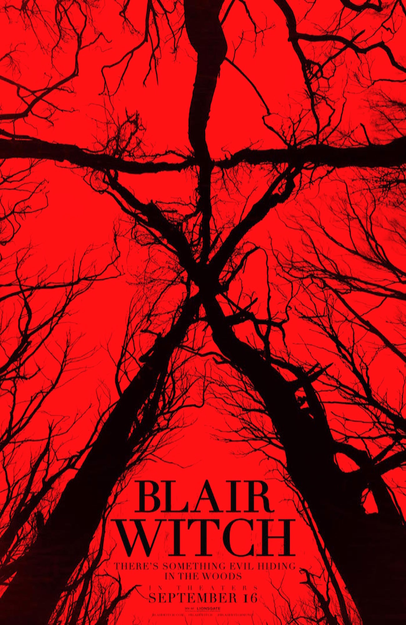 Blair witch the woods poster 2