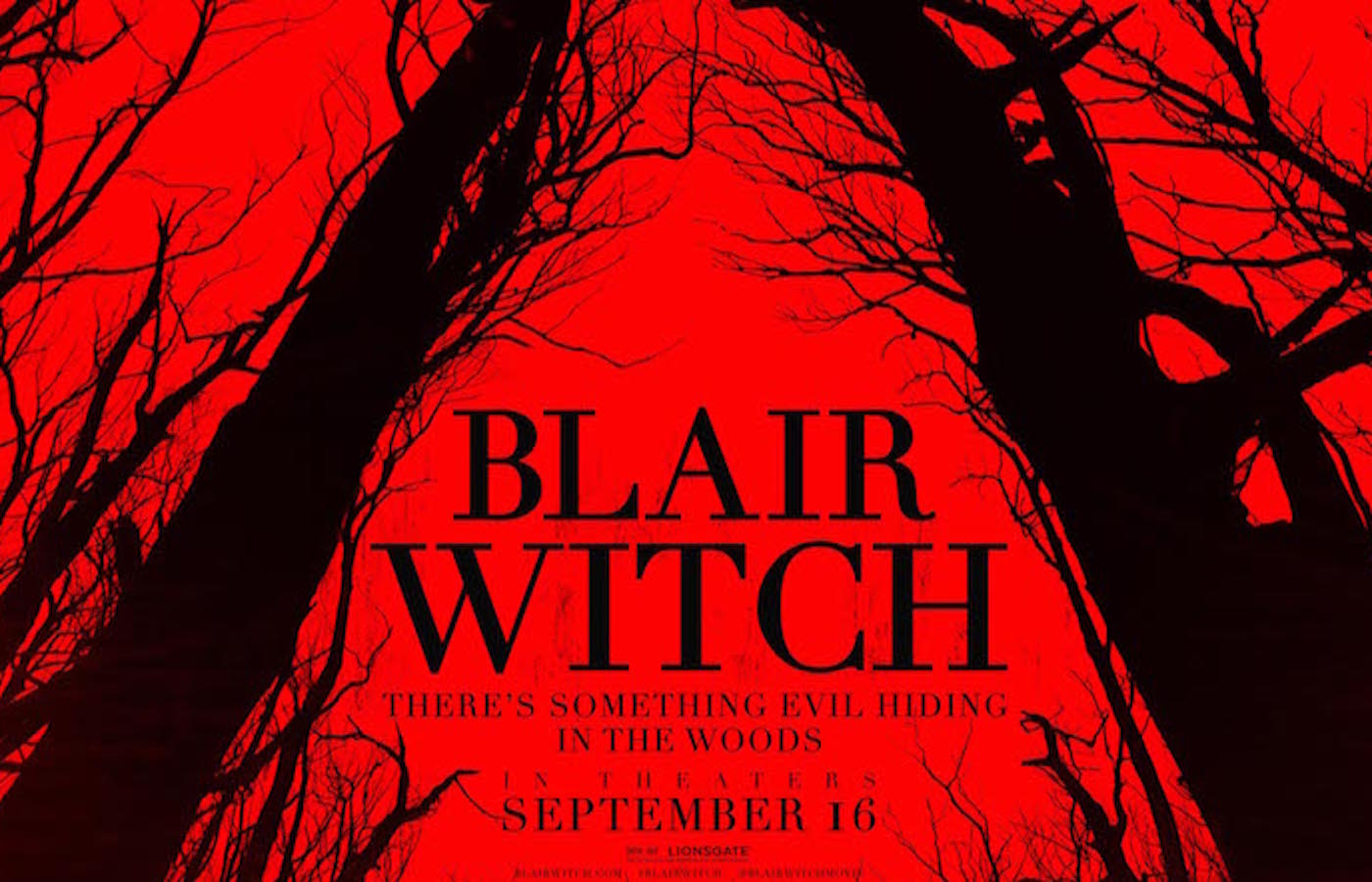 Blair witch the woods poster
