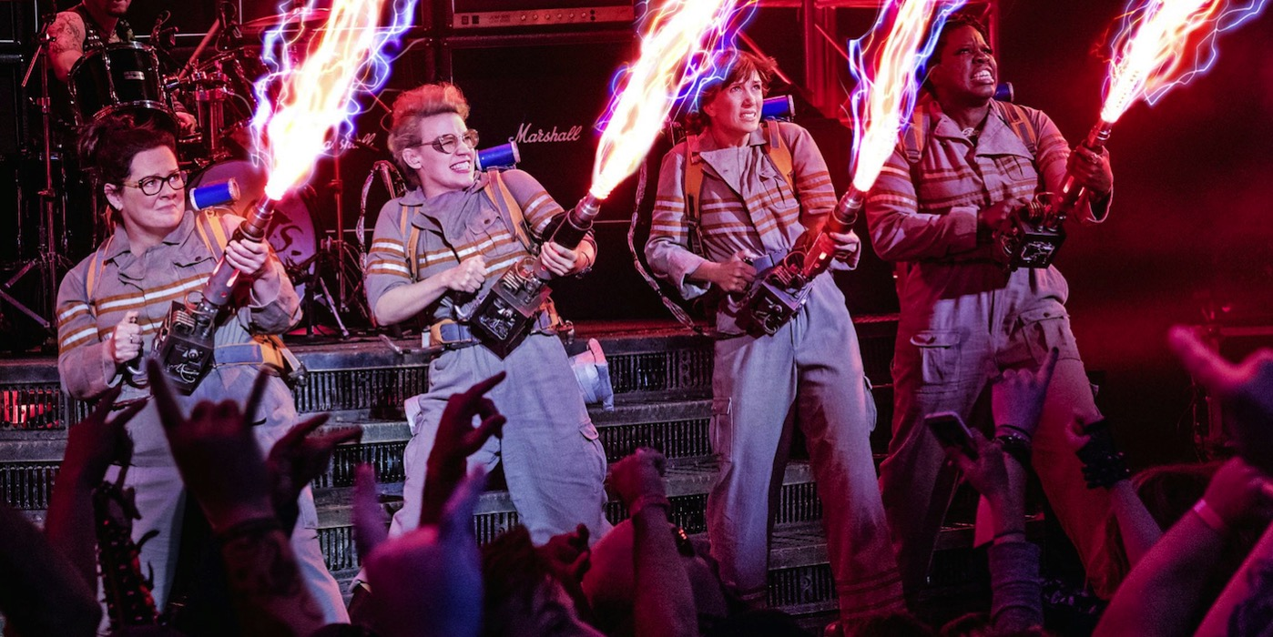 Ghostbusters 2016 cast proton packs images