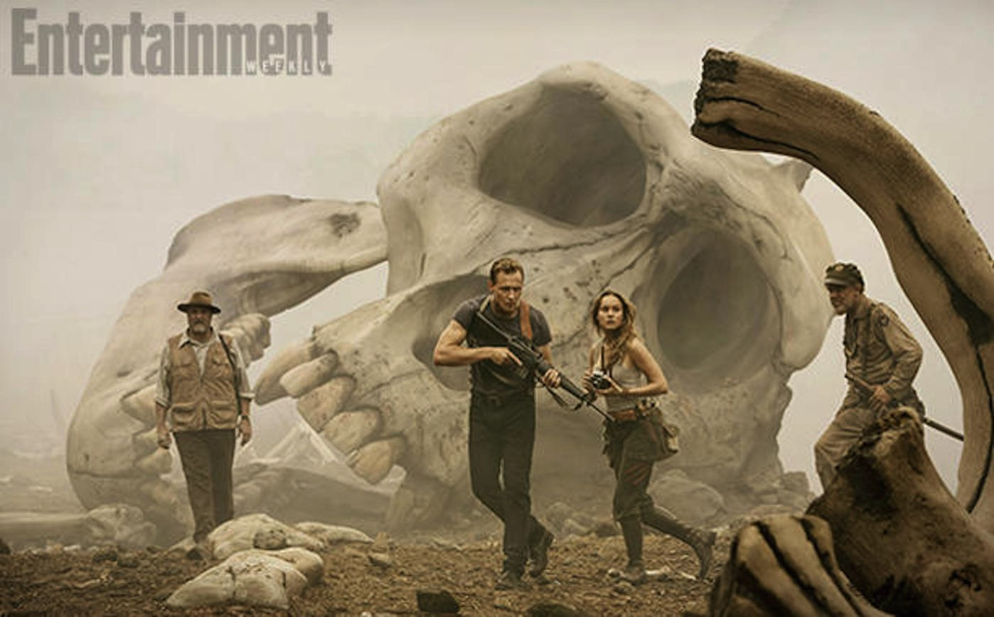 Kong skull island tom hiddleston brie larson 1