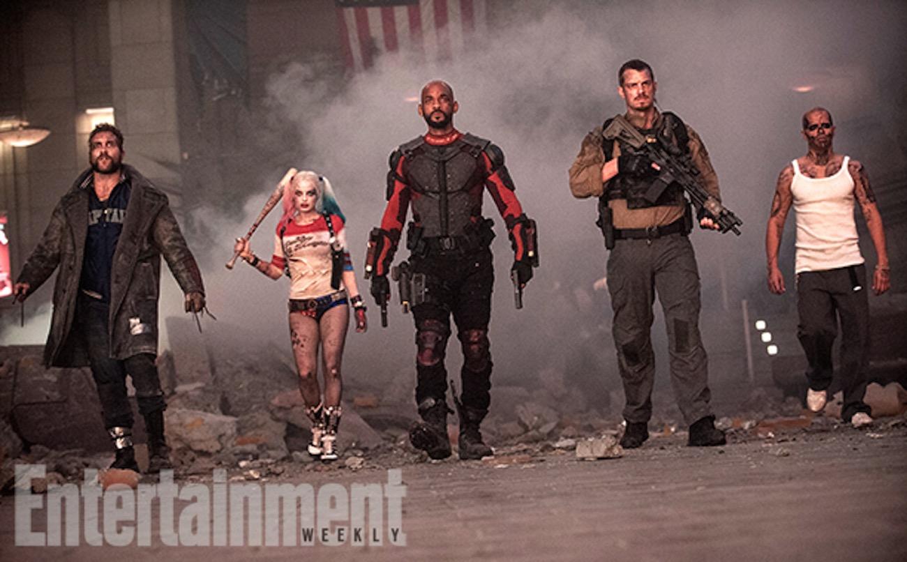 Suicide squad cast image