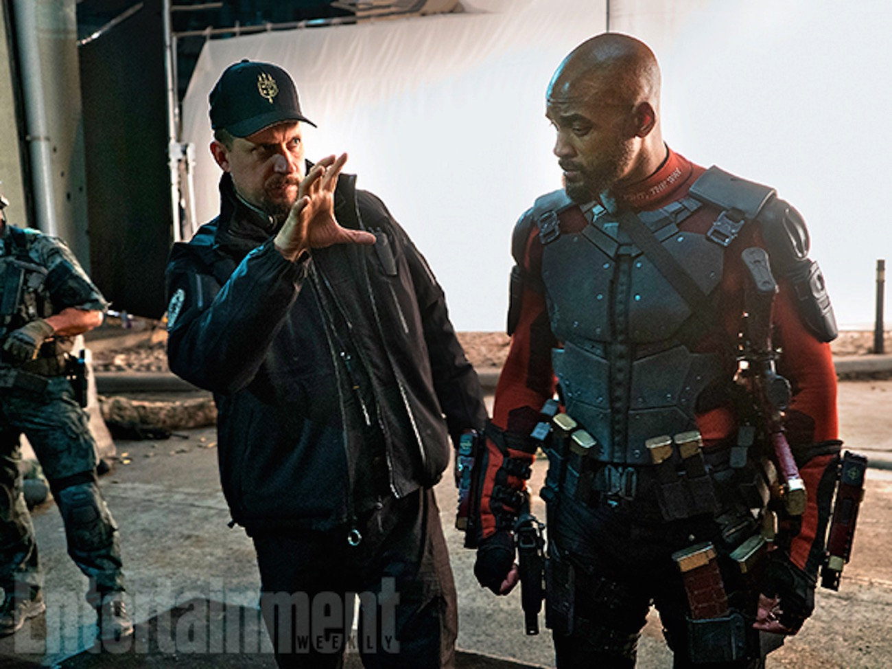 Suicide squad image will smith david ayer