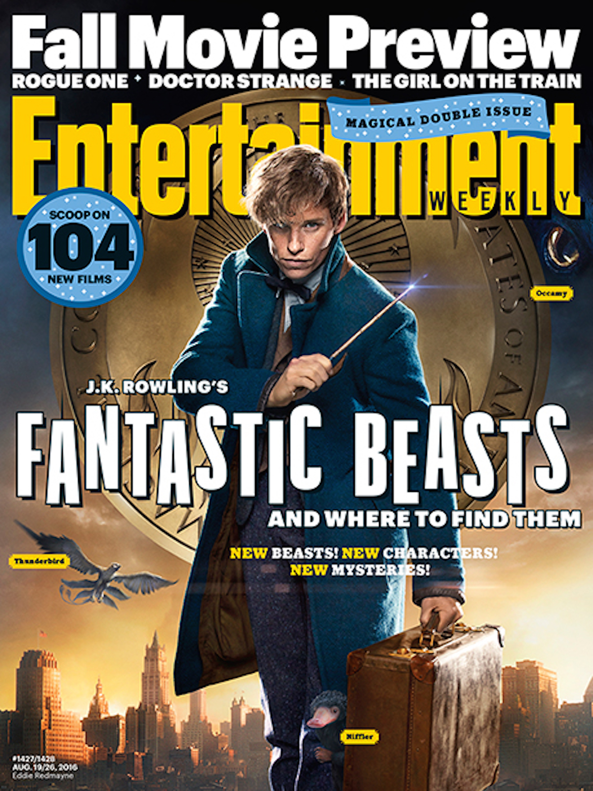 Fantastic beasts ew cover
