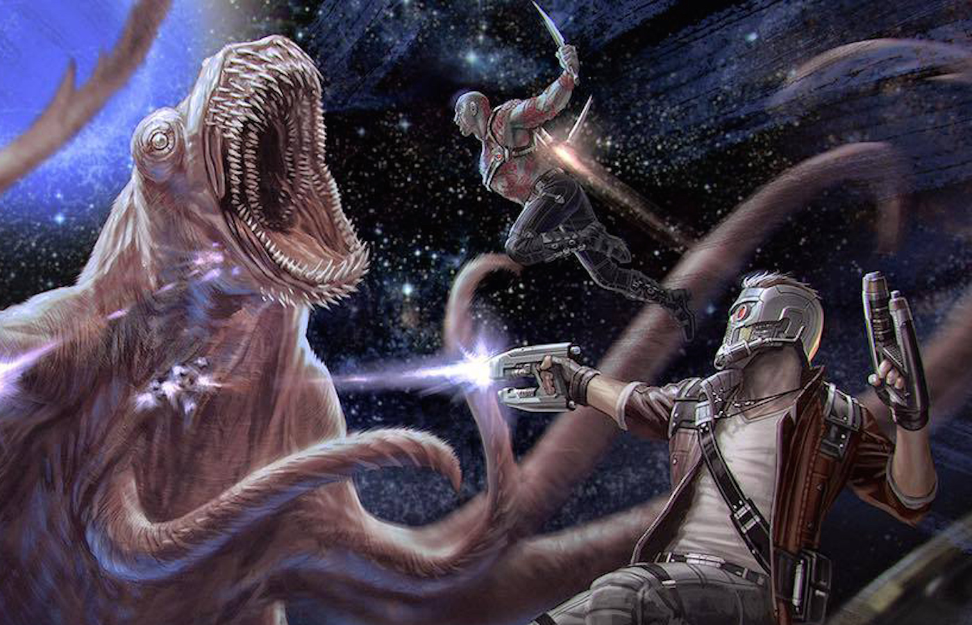 Guardians of the galaxy 2 concept art monster 2
