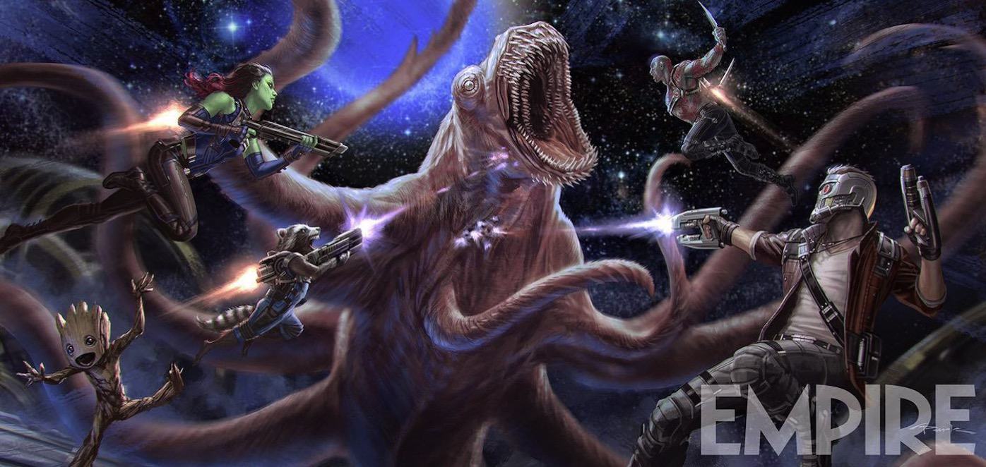 Guardians of the galaxy 2 concept art monster