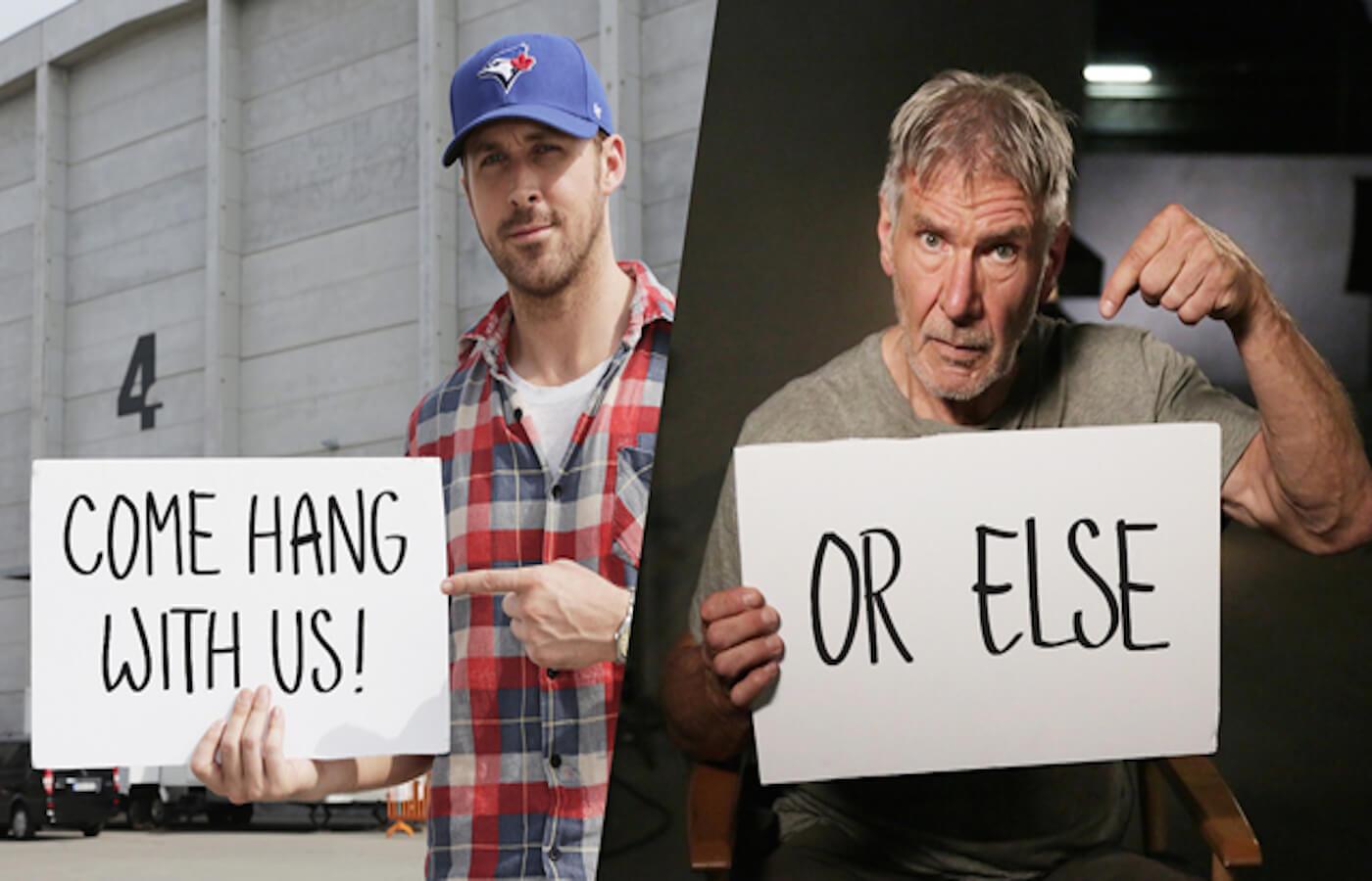ライアン・ゴズリングが『ブレードランナー2』の撮影現場を訪れるチャンスを提供!