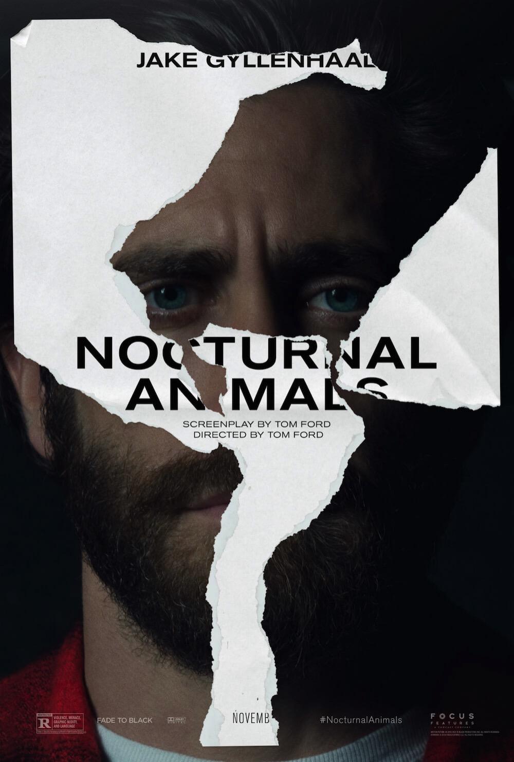Jake Gyllenhaal Nocturnal Animals Poster