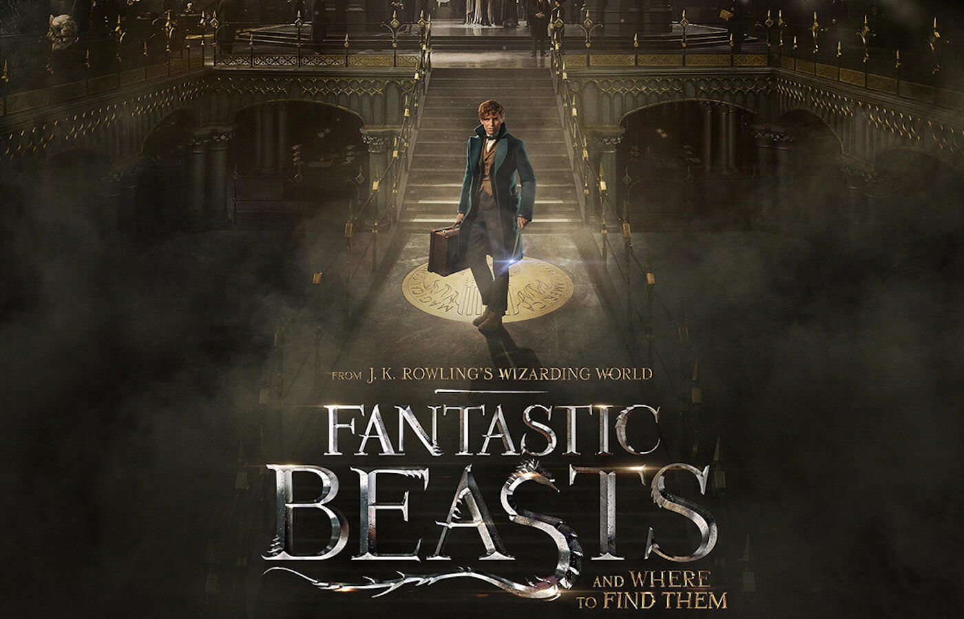 Fantastic beasts and where to find them poster 2