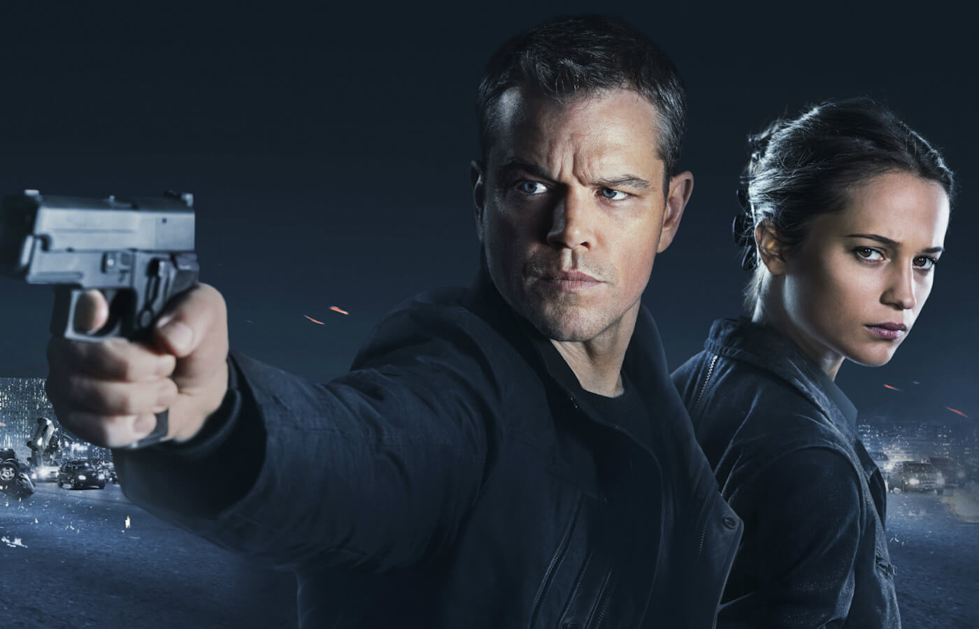Jason bourne movie clips damon vikander