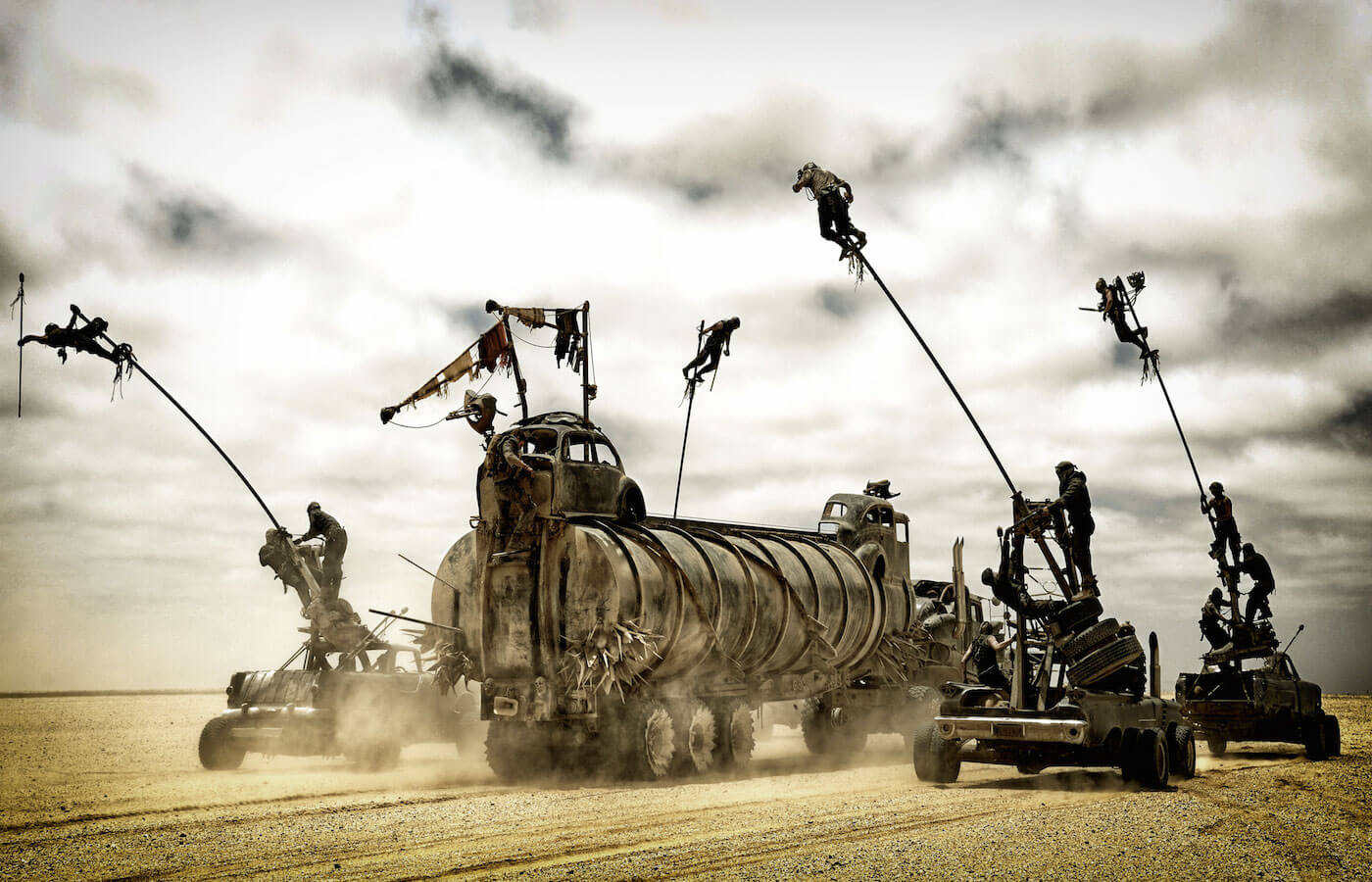 Mad max fury road image the war rig