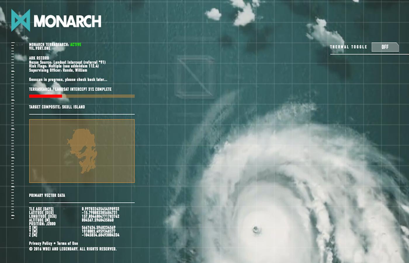 【コング:スカル・アイランド】秘密機関モナークによるドクロ島調査サイトが見つかる!!!