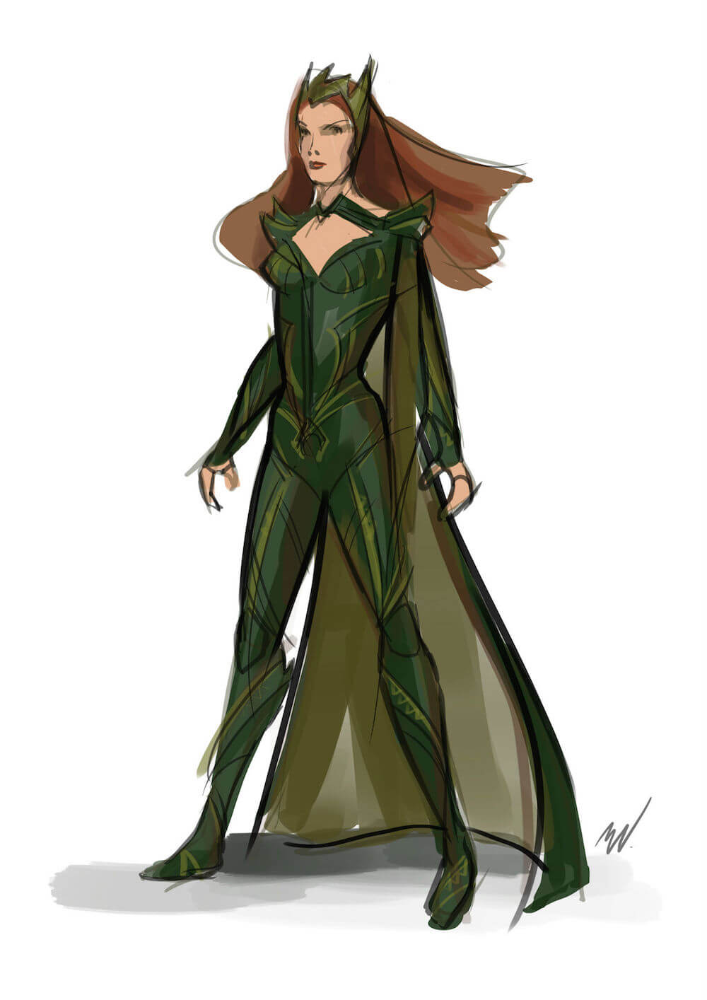 Mera Michael Sketch
