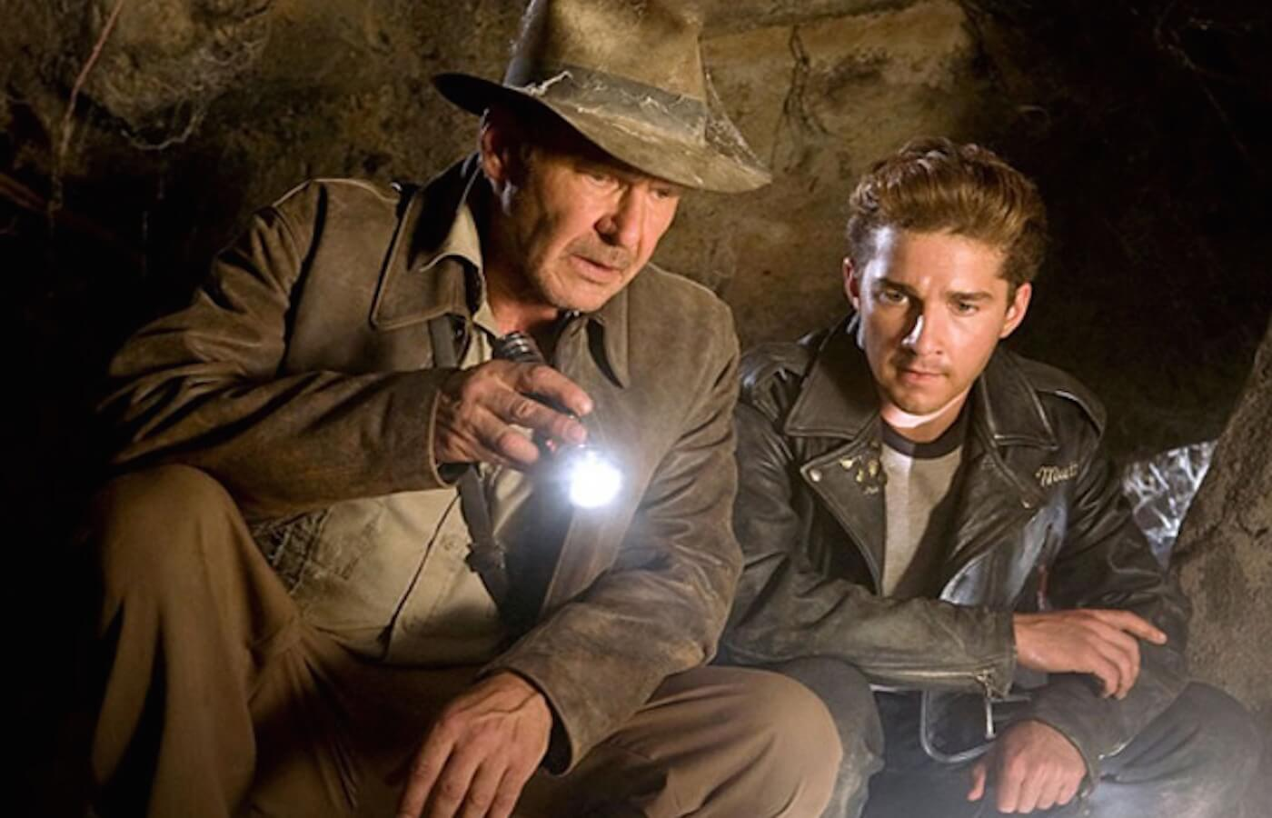 Indiana jones harrison ford shia labeouf