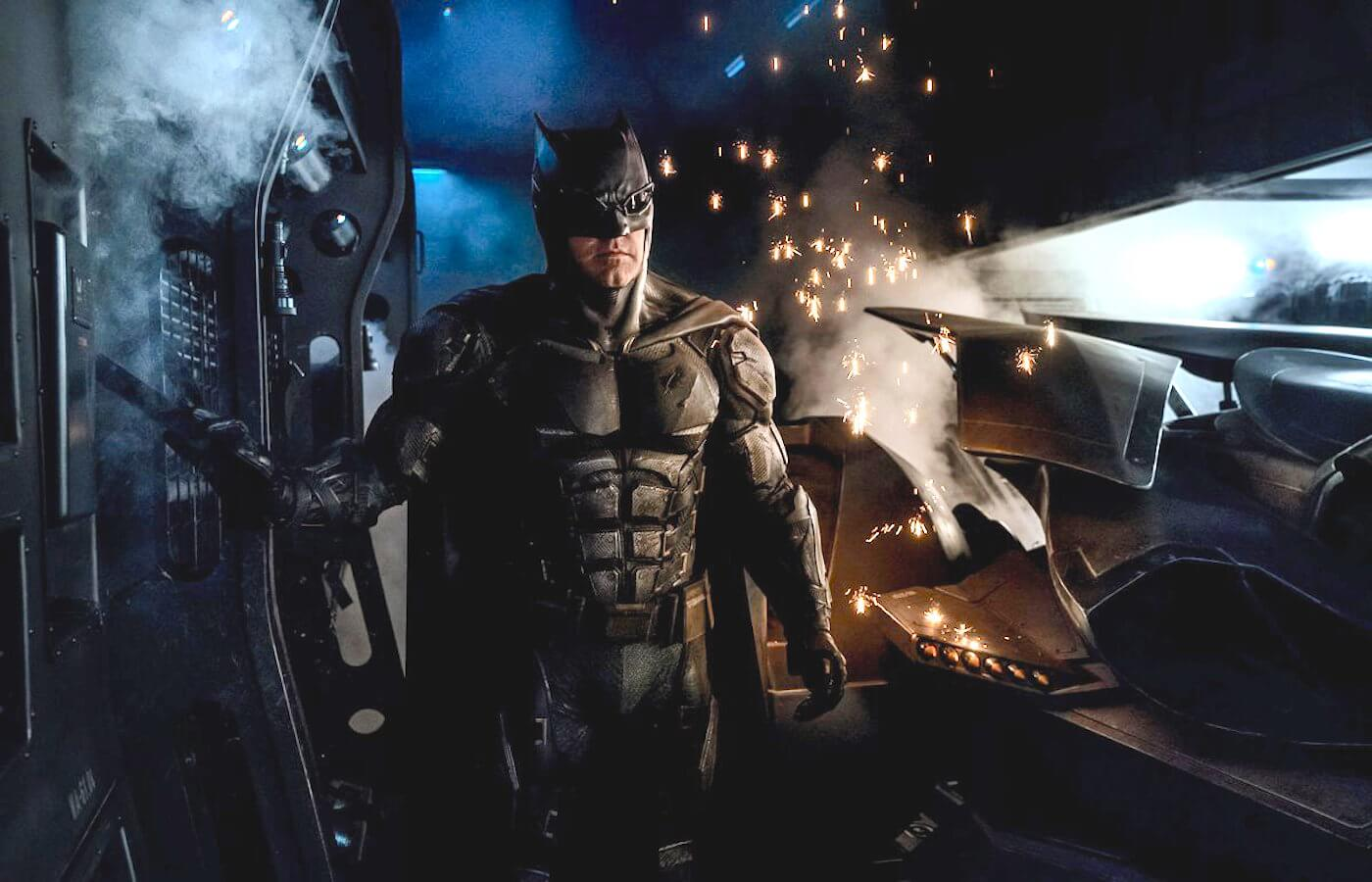 Justice league batman batsuit